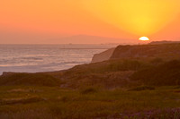 Crystal Cove State Park Sunset