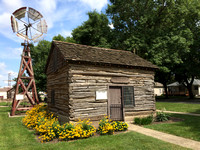 Early Log Cabin now at Plymouth County Iowa Historical Society
