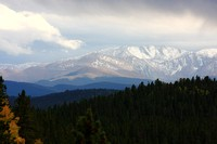 Mount Evans in the distance