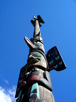 Totem in Ketchikan