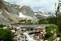 Lake Marie and Medicine Bow Peak